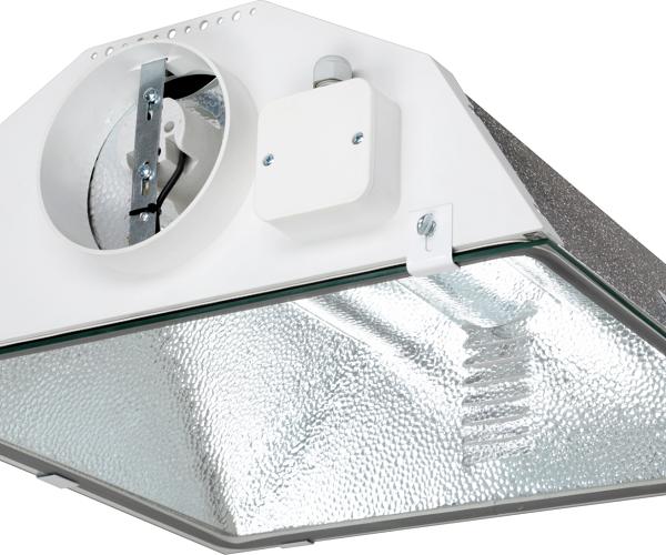 Réflecteur SPUDNIK Ø150mm - Prima Klima - réflecteur vitré à raccorder au circuit de ventilation