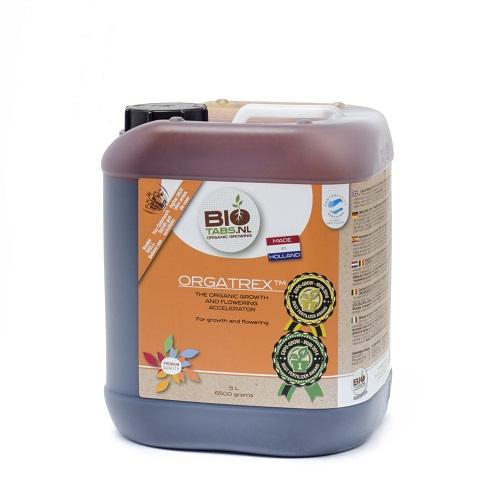 BIOTABS ORGATREX 5L - engrais liquide utilisable en agriculture biologique