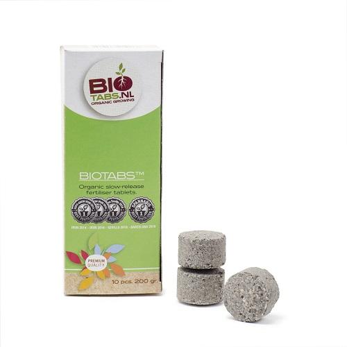 BIOTABS PASTILLES 200G - engrais solide à dissolution lente - utilisable en agriculture biologique