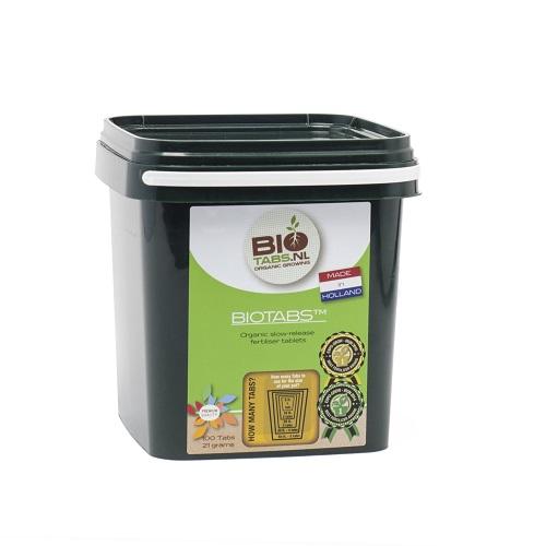 BIOTABS PASTILLES - engrais solide à dissolution lente utilisable en agriculture biologique