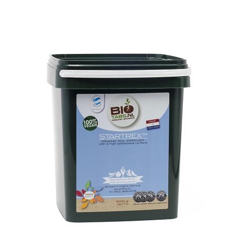 BIOTABS STARTREX 5KG - amendement de sol d'origine organique et utilisable en agriculture biologique