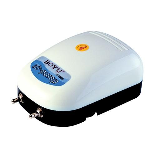 POMPE A AIR BOYU S2000 - utilisable avec deux airdomes ou oxygénation aquarium