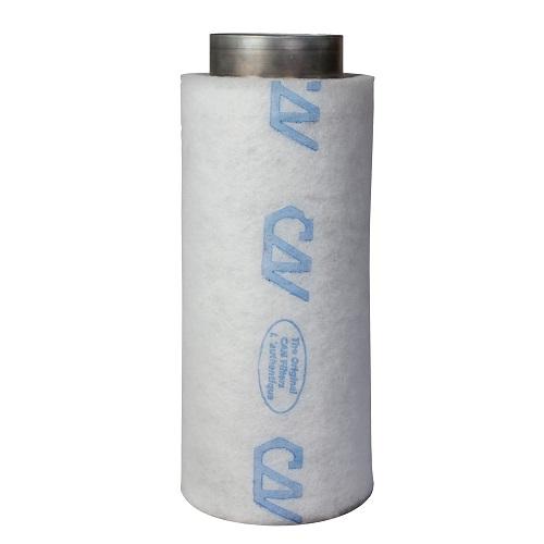 Filtre à charbon actif Can-Lite™ 425m³/h S - corps du filtre métal - flange 150mm