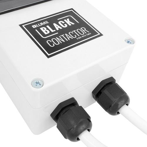 BLACK CONTACTOR ZOOM BLOC 8 PRISES