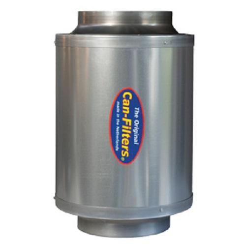 Filtre charbon actif Can In-Line 600 m3/h - flanges 150mm