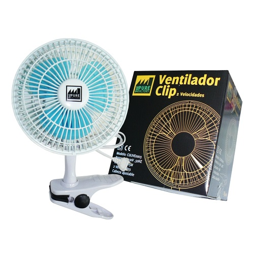 Ventilateur à Pince (Clip Fan) - 150mm - Pure Factory
