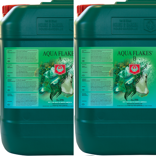 AQUAFLAKES A+B 10L HOUSE AND GARDEN - engrais hydroponie