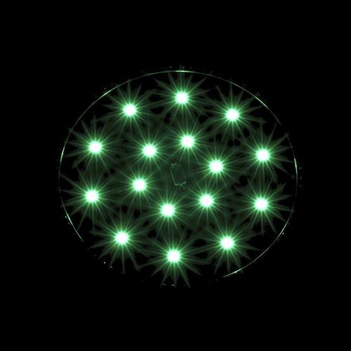 BIONICSPOT LED VERT BIONICLED VUE NUIT