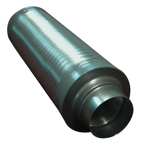 Silencieux flexible sortie 125mm