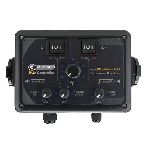 Twin Controller 4A + 4A - CLI-MATE