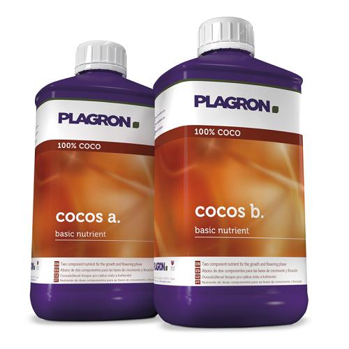 PLAGRON ENGRAIS COCO A ET B 1L - culture sur substrat coco tamponné