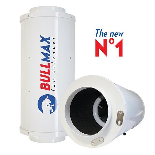 BullMax 594m³/h avec potentiomètre - extracteur insonorisé Bull Filter