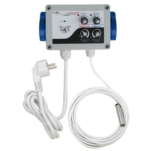 Contrôleur humidité température dépression GSE G SYSTEMS