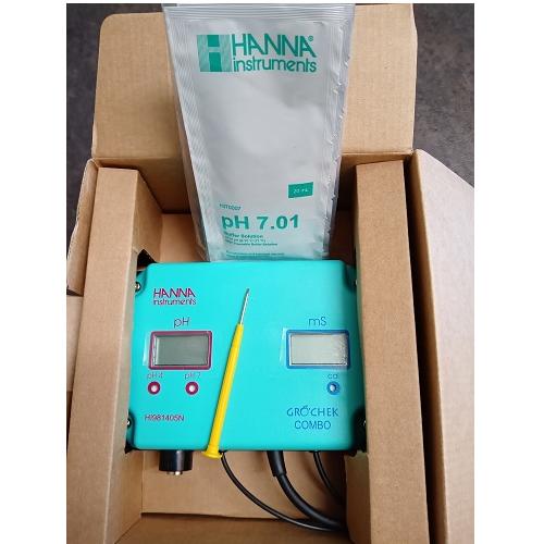 GROCHEK HANNAH INSTRUMENTS- testeur pH EC et T°
