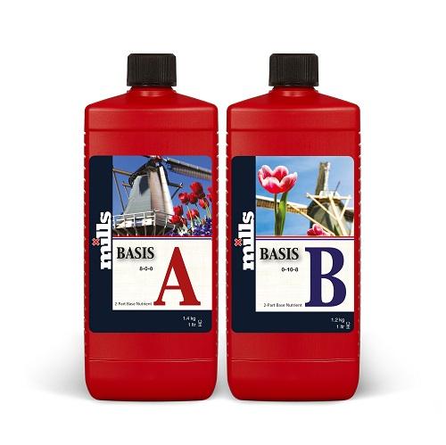 MILLS Basis A&B - 2×1L - base organo minérale