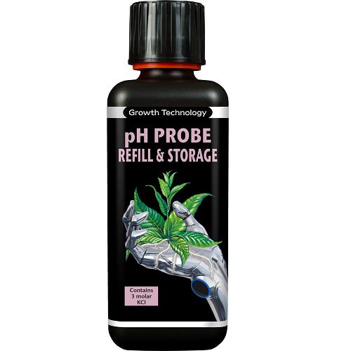Solution stockage sonde pH 300ml - Growth Technology