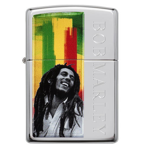 Zippo Bob Marley - briquet essence