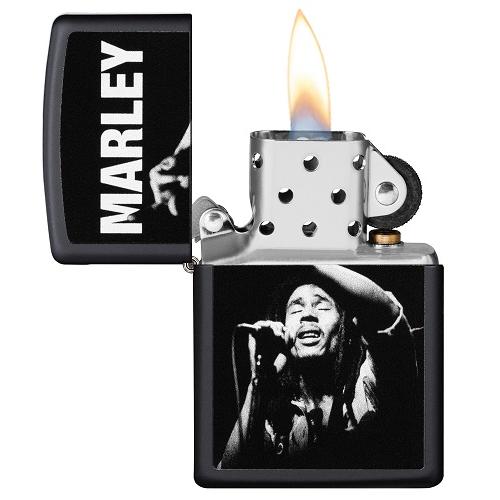 Zippo Bob Marley N&B ouvert