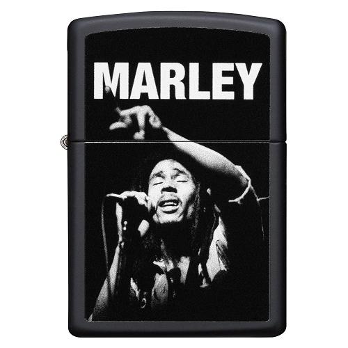 Zippo Bob Marley N&B - briquet essence