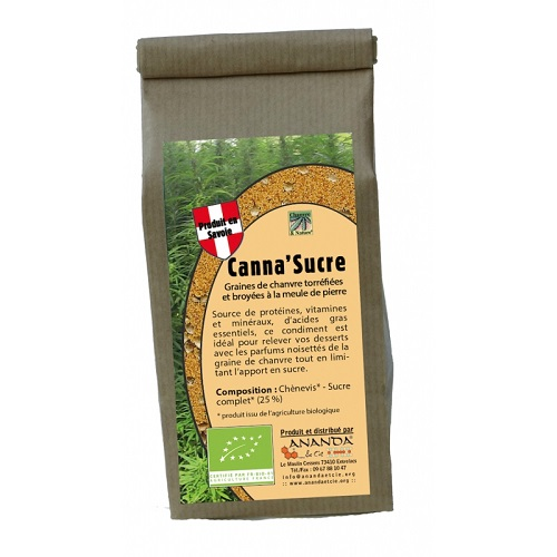 CANNA SUCRE 150G ANANDA - label ecocert
