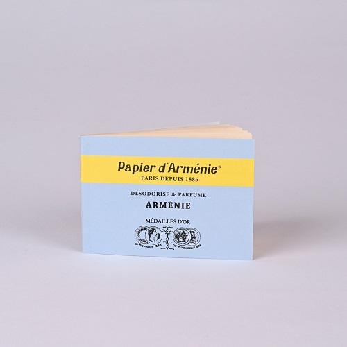 Carnet Arménie Papier d'Arménie® - carnet de 12 feuilles prédécoupées