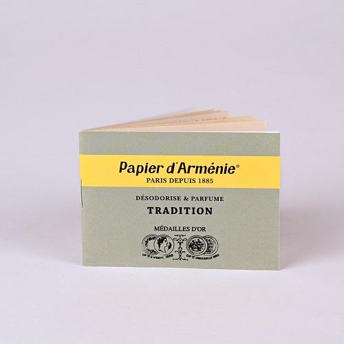 Carnet papier d'Arménie® tradition - 12 feuilles prédécoupées