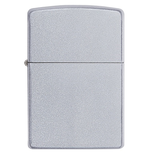 Briquet tempête essence Zippo - Chrome Satin Finish