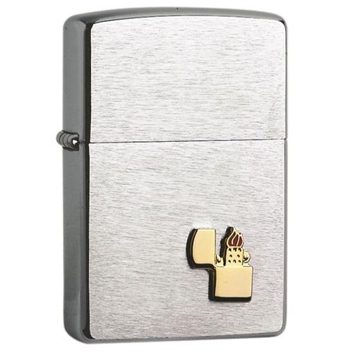 Briquet Tempête Zippo Gold Emblem