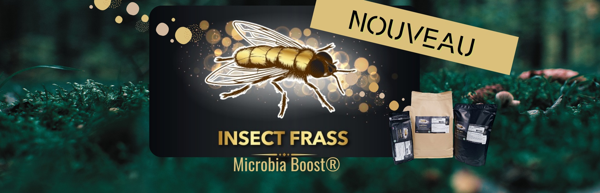 INSECT FRASS MICROBIA BOOST