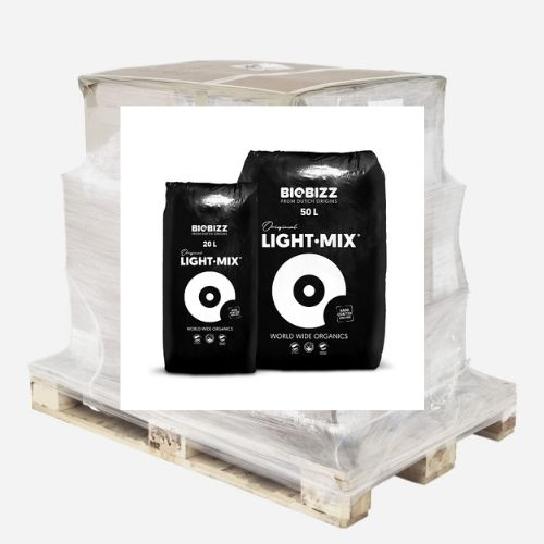 Palette 65 sacs LightMix 50L BIOBIZZ