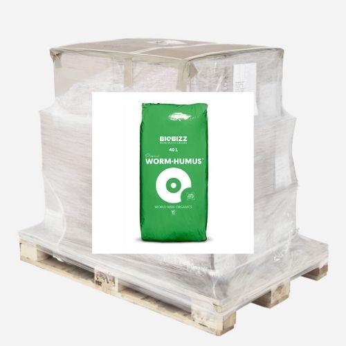 Palette de 50 sacs de Worm Humus 40L BioBIzz