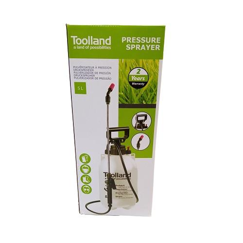 Pulvérisateur avec lance réservoir 5L TOOLLAND - Jardins Alternatifs