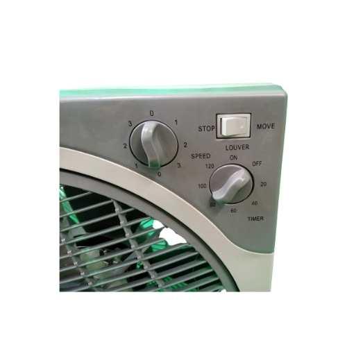 Ventilateur Box Fan Provent Zoom boutons de commande